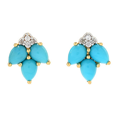 stud mjyd earrings goldturquoise il listing turquoise genuine