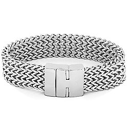 Steel Impact™ Men's Stainless Steel 9 Multi Layer Franco Link Bracelet - 169-646