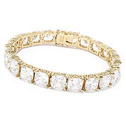 Victoria Wieck for Brilliante® Choice of Length Simulated Diamond Line Bracelet - 170-195