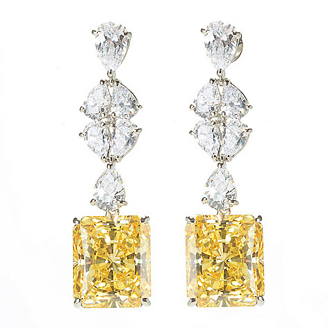 171 306 Victoria Wieck For Brilliante 30 44 Dew Simulated Diamond Drop Earrings