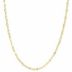 Basic Chains - 14K Gold Choice of Length Figaro Chain Necklace - 173-576