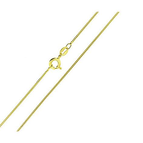 Italian Gold Chain >> 14k Italian Gold Choice Of Length Cuban Link Necklace Evine