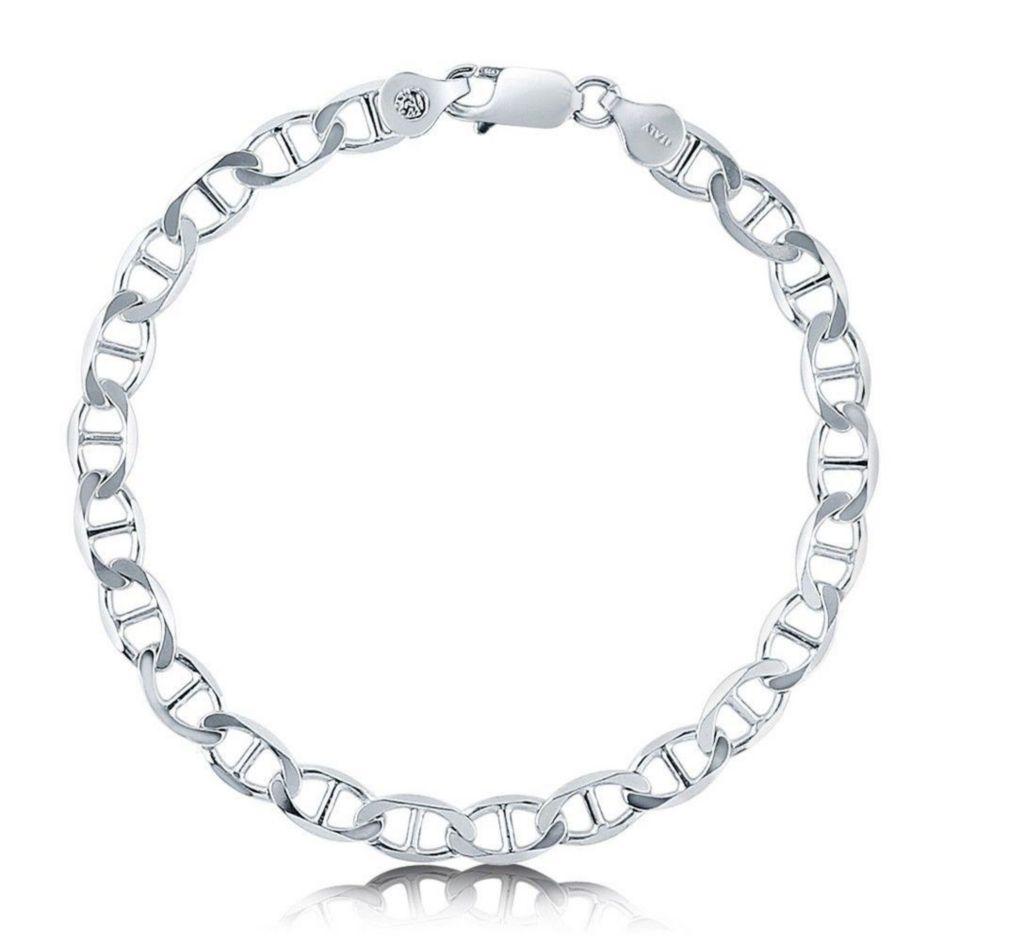 Italian Sterling Silver Marina Chain Bracelet - 174-852