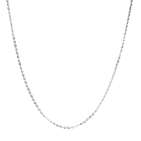Viale18K® Italian_Gold Choice_of_Length Forzatina_Chain Necklace