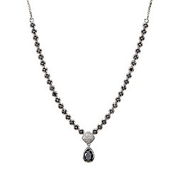 Diamond Treasures® Kyle's Collection Sterling Silver 5.28ctw Diamond Y-Necklace