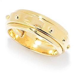 Rings - Stefano Oro Rosary 14K Gold Spinner Ring - 177-432