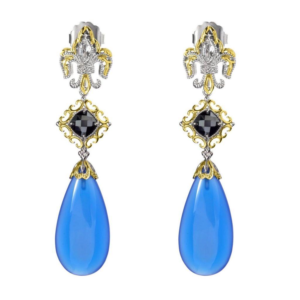Gems en Vogue Final Cut Drop Earrings - 179-901