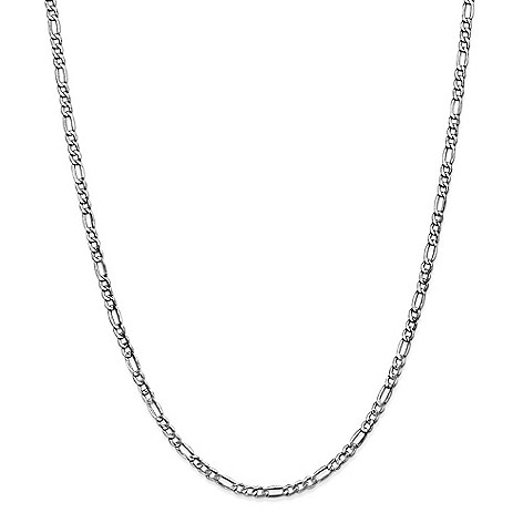 Gold_Standard_Jewelry_Company_14K_Gold_Choice_of_Length_Semi-Solid_3.5mm_Figaro_Chain_Necklace