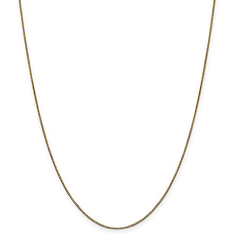 Gold_Standard_Jewelry_Company_14K_Gold_Choice_of_Length_0.9mm_Box_Chain_Necklace