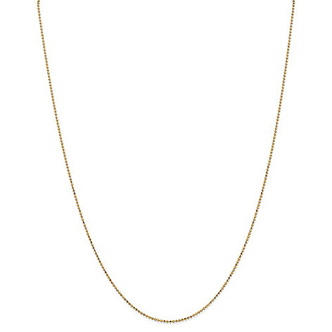 Gold_Standard_Jewelry_Company_14K_Gold_Choice_of_Length_1.2mm_Diamond_Cut_Ball_Chain_Necklace