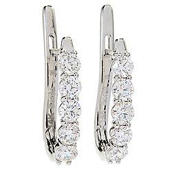 8f1d76a60 Image of product 180-833. QUICKVIEW. Sonia Bitton Galerie de Bijoux® 14K  Gold 1.00ctw Diamond Huggie Hoop Earrings