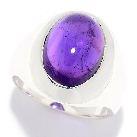 e55b1e5a17f05f 181-549- Nicky Butler Classic Collection Sterling Silver 14 x 10mm Oval  Gemstone Ring