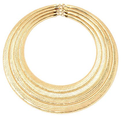 Once Only at ShopHQ - 50% OFF - 181-690 Stefano Oro 14K Gold Choice of Length Mesh Necklace