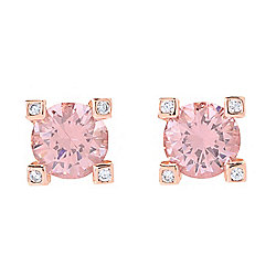 Victoria Wieck for Brilliante® Simulated Tanzanite Stud Earrings