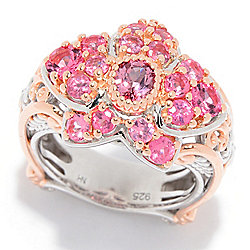 Gems en Vogue 1.75ctw Pink Spinel Orchid Ring