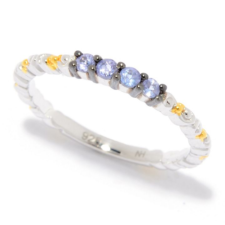 Today's Top Deal at ShopHQ   185-596 Gems en Vogue Stack Band Ring Choice of Ruby, Emerald, Multi Sapphire, Tanzanite, or Diamond Stack together or wear as singles!