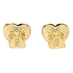 "Gucci ""Le Marché Des Merveilles"" 18K Gold Stud Earrings, 8.9 grams"