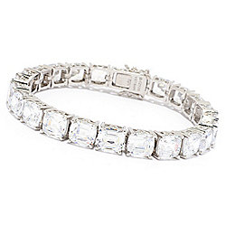 Victoria Wieck for Brilliante® Queen of Holland Simulated Diamond Tennis Bracelet