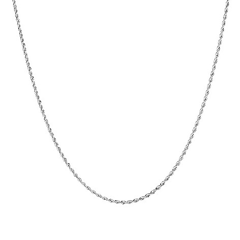 Viale18K® Italian_Gold Choice_of_Length Rope_Chain Necklace