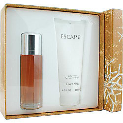 Calvin Klein Escape Eau de Parfum Spray & Body Lotion Set