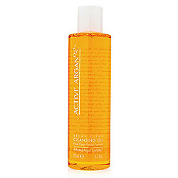 Active Argan Cleansing Oil Rinse Clean Facial Formula 6.7 oz