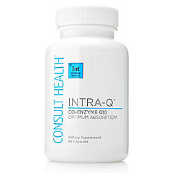 Consult Health Intra-Q Co-Enzyme Q10 Dietary Supplement (Choice of Supply)