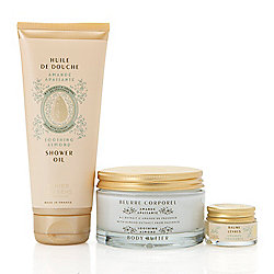 Panier des Sens Timeless 3-Piece Soothing Almond Collection