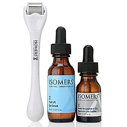 "ISOMERS Skincare 3-Piece ""Roll Away Wrinkles"" Eye Treatment Set"