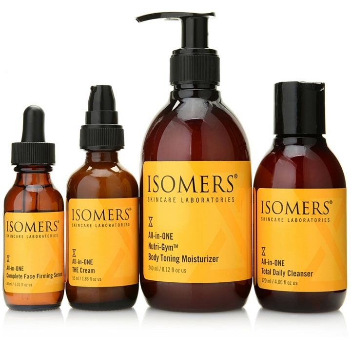 ISOMERS - Live from Florida - 314-202 ISOMERS Skincare 4-Piece All-in-One Face & Body Collection