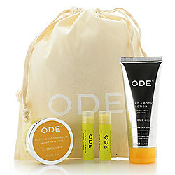 314-444 - ODE 4-Piece Olive Oil Hydration Set for Body & Lips - 314-444