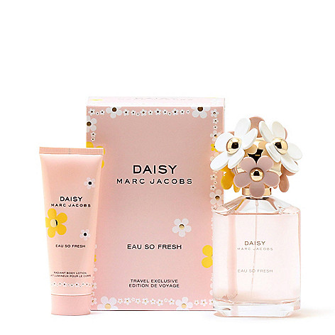 Marc Jacobs Daisy Eau So Fresh Eau De Toilette Body Lotion Set Evine