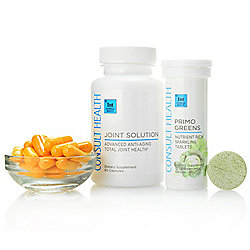 Consult Health Joint Solution Dietary Supplement (Choice of Supply) w Primo Greens Tablets - 315-093