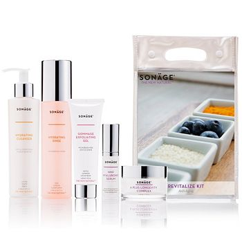Flash Sale - Today Only Ft. SONAGE Skincare Up to 30% OFF - 315-519 SONAGE 5-Piece Revitalize Kit For Mature & Dehydrated Skin - 315-519