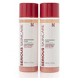 Serious Skincare Dry Lo Pro Treatment Duo for Problematic Skin 6.7 oz Each