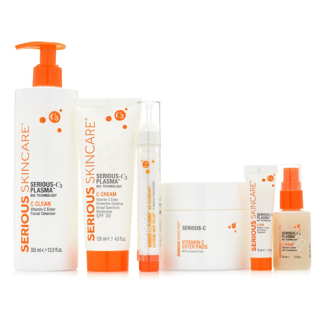 Serious Skincare 6-Piece Serious-C3 Plasma Skincare Set - 316-021