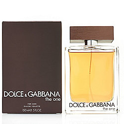 Dolce & Gabbana The One for Men Eau de Toilette 3.4 oz or 5 oz