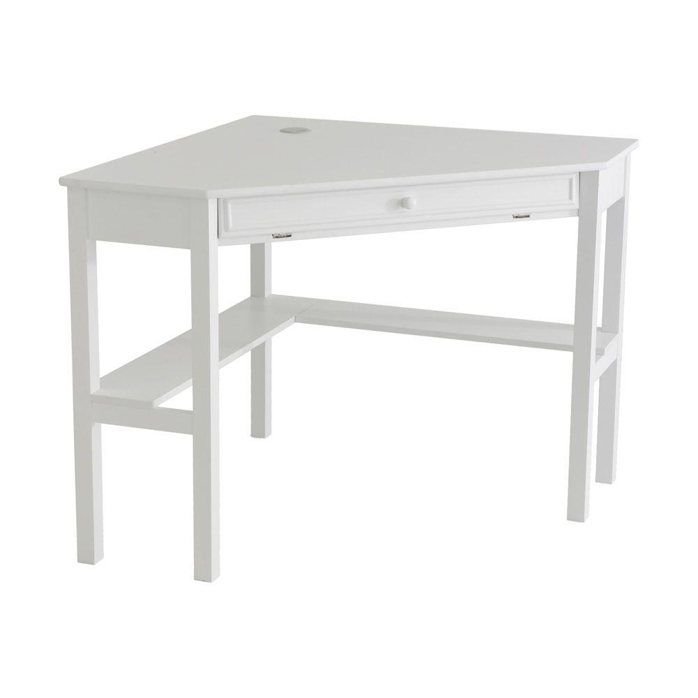 412 682  NeuBold Home White Corner Computer Desk