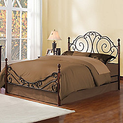Homebasica Metal Poster Bed