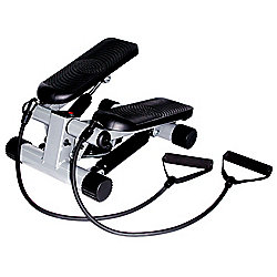 Sunny Health & Fitness Mini Stepper w/ Resistance Bands