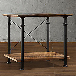 Homebasica Rustic Inspired End Table