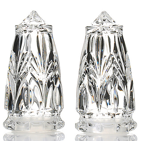 Marquis By Waterford Canterbury 4 Two Piece Salt Pepper Shaker