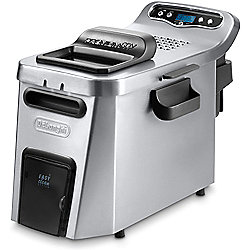 DeLonghi Stainless Steel Digital Dual-Zone Deep Fryer