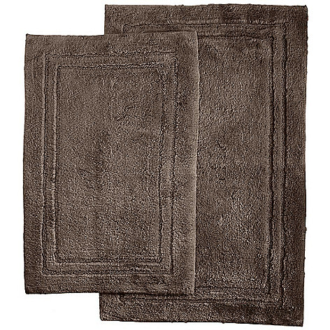 446 520 Superior 100 Cotton 2 Piece Non Skid Bath Rug