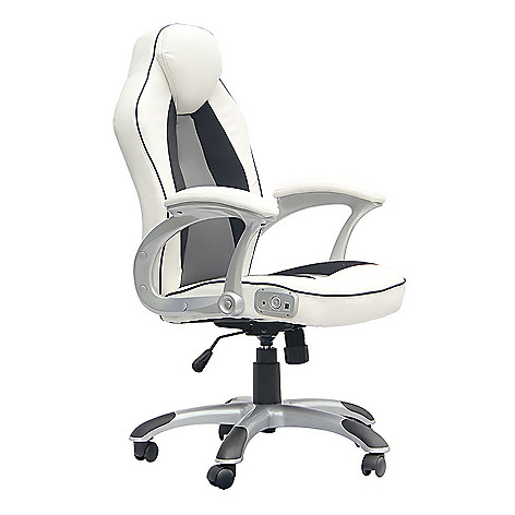 X Rocker 2 0 Bluetooth Audio Executive Office Chair W Adjule Seat Evine