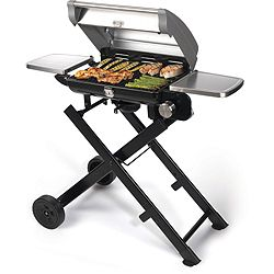 Cuisinart All-Foods 41 Roll-Away Portable Outdoor LP Gas Grill - 447-309