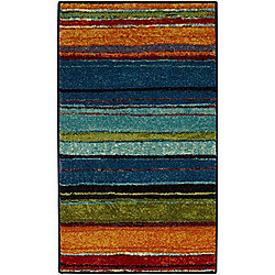 Mohawk Home Multi Colored Rainbow Rug