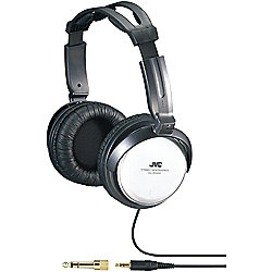 JVC Full-Size Silver Headphones w/ 40mm Drivers