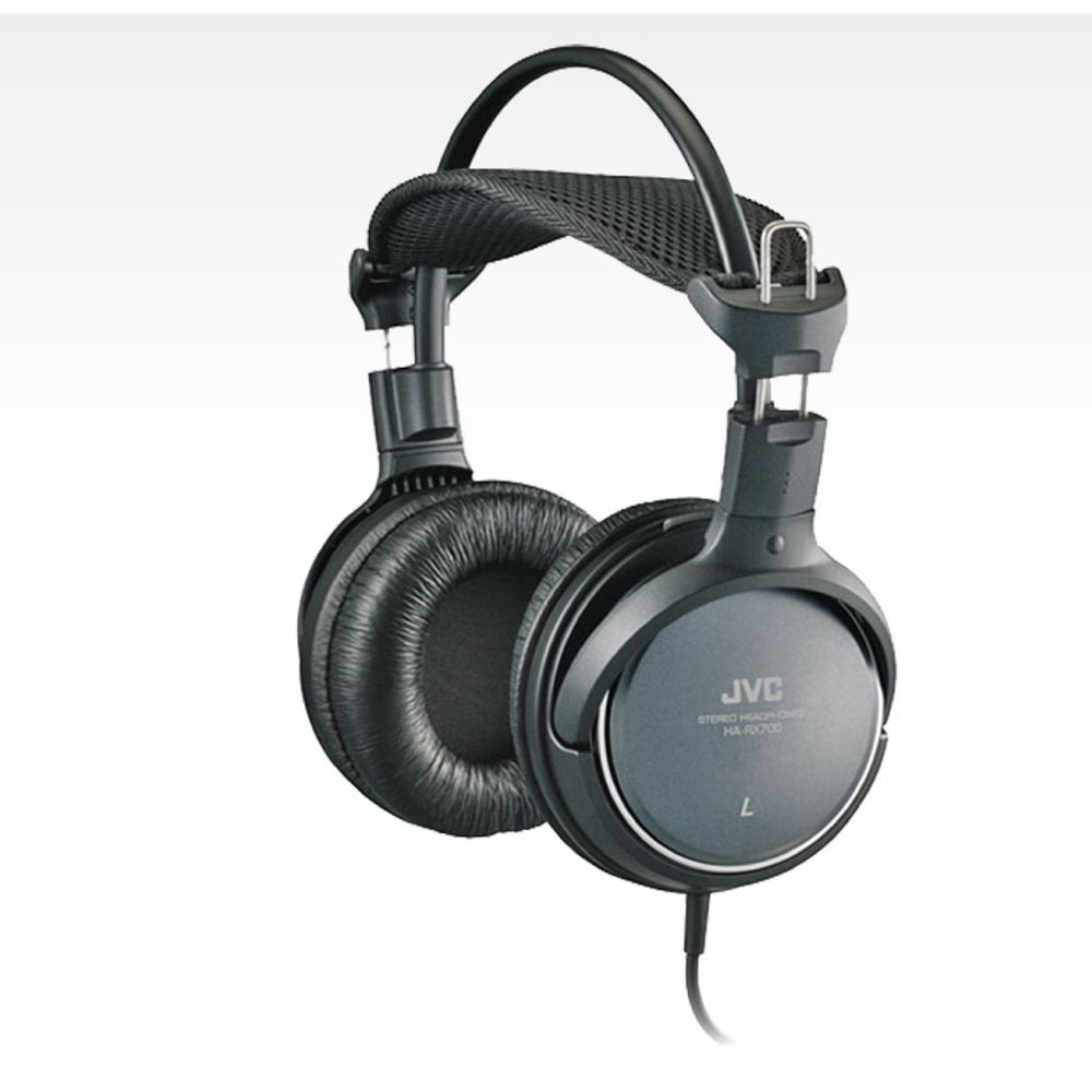 JVC Full-Size Over-Ear Headphones w/ 50mm Drivers - EVINE