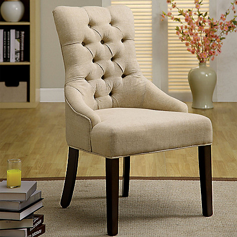 451 132 Furniture Of America Set Two 39 Fabric Dining Chairs