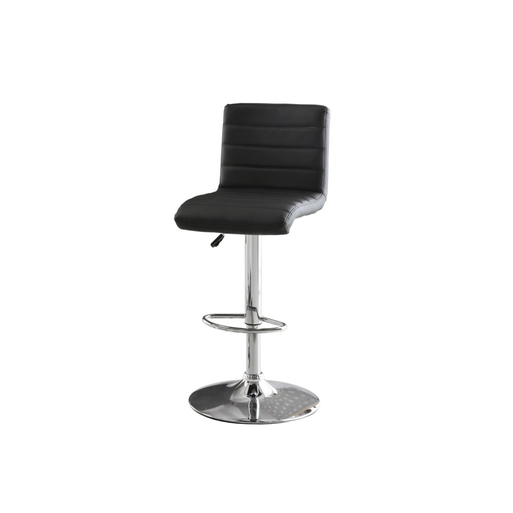Sensational Furniture Of America 40 Leatherette Hydraulic Bar Stool Machost Co Dining Chair Design Ideas Machostcouk